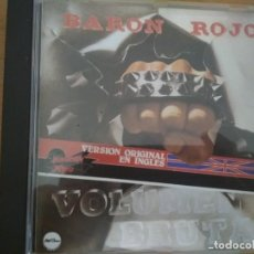 CDs de Música: BARON ROJO VOLUMEN BRUTAL CD VERSION ORIGINAL EN INGLES CD 1995. Lote 194960493