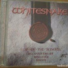 CDs de Música: WHISTESNAKE SLIP OF THE TONGUE CD 30TH ANIVERSARY EDITION BONUS TRACKS. Lote 194960661