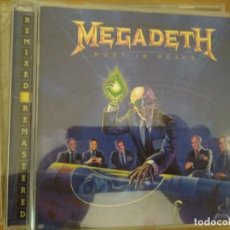 CDs de Música: MEGADETH RUST IN PEACE CD REMASTERED BONUS TRACKS. Lote 194960762