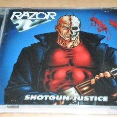 CDs de Música: RAZOR CD + 5 BONUS, LTD. EDITION 2015-ANTHRAX-METALLICA-LIEGE LORD-EXCITER-IRON MAIDEN*PRECINTADO*. Lote 194961621