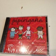 CDs de Música: G-VALRMA CD MUSICA PIPIRIGAÑA. ANTOLOGÍA DE FOLCLORE INFANTIL DE ANDALUCIA. NUEVO. Lote 194961958