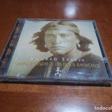 CDs de Música: SACRED SPIRIT. CANTOS Y DANZAS DE LOS INDIOS AMERICANOS. CD EN BUEN ESTADO CON 11 TEMAS. . Lote 194962575