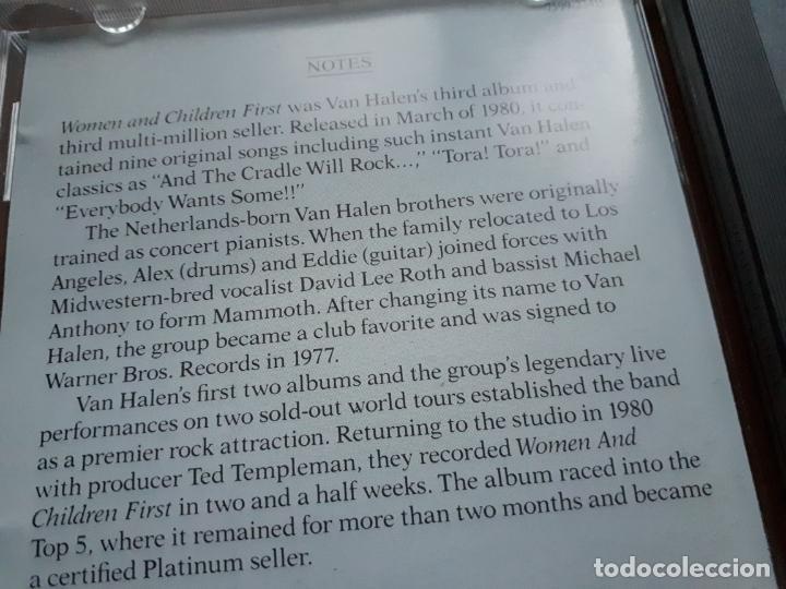 CDs de Música: Van Halen - Woman and children first - 1980 - Foto 3 - 194964451