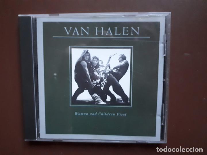 VAN HALEN - WOMAN AND CHILDREN FIRST - 1980 (Música - CD's Heavy Metal)