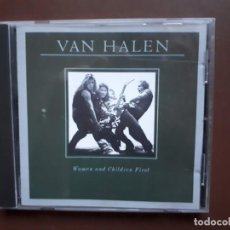 CDs de Música: VAN HALEN - WOMAN AND CHILDREN FIRST - 1980. Lote 194964451