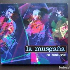 CDs de Música: LA MUSGAÑA - EN CONCIERTO - 1997. Lote 194965263
