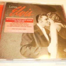 CDs de Música: CD ELVIS PRESLEY. LOVE. ELVIS. 24 TEMAS. RCA SONY 2005 EU (BUEN ESTADO). Lote 194965428