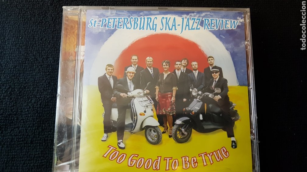 CDs de Música: St-Petersburg Ska-Jazz Review..Too Good To Be True..2005 - Foto 2 - 194966167