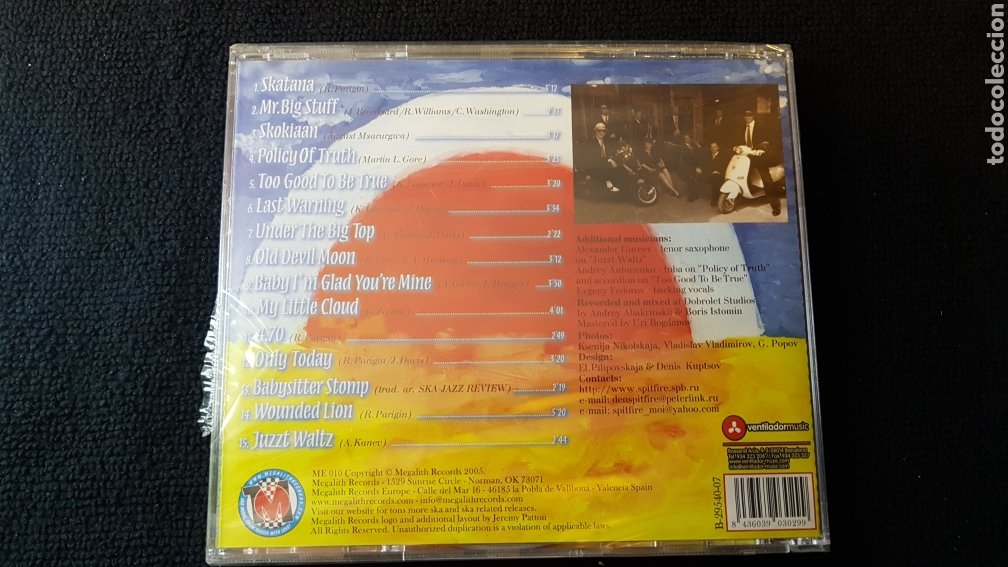 CDs de Música: St-Petersburg Ska-Jazz Review..Too Good To Be True..2005 - Foto 3 - 194966167