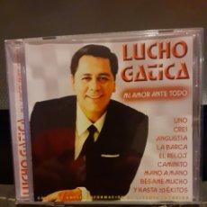 CDs de Música: LUCHO GATICA. MI AMOR ANTE TODO.. Lote 194967572