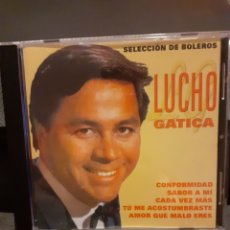 CDs de Música: LUCHO GATICA. SELECCIÓN DE BOLEROS.. Lote 194967860