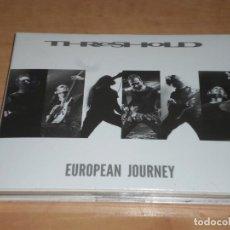 CDs de Música: THRESHOLD 2 CD EUROPEAN JOURNEY LTD EDITION 2015 -DREAM THEATER- MAGNITUDE 9-SYMPHONY X. Lote 194974530