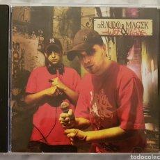CDs de Música: CD DJ RAUDO&MAGEKMITOS Y LEYENDAS. HIP HOP RAP ESPAÑOL. RAREZA. DIFICIL DE ENCONTRAR. Lote 194977411