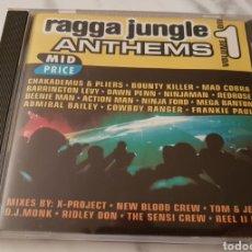 CDs de Música: CD RAGGA JUNGLE ANTHEMS. RECOPILATORIO REGGAE, HIP HOP. Lote 194977473