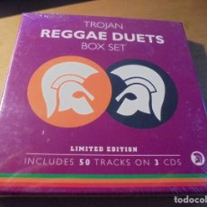 CDs de Música: RAR BOX. 3 CD'S. TROJAN. REGGAE DUETS. BOX SET. DANCE. Lote 194980168