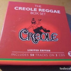 CDs de Música: RAR BOX. 3 CD'S. CREOLE REGGAE. BOX SET. DANCE. Lote 194980236