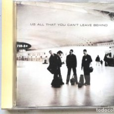 CDs de Música: CD U2 ALL THAT YOU CAN´T LEAVE BEHIND. Lote 194981938