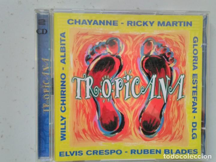 CD DOBLE TROPICANA (Música - CD's Latina)