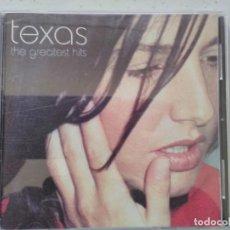 CDs de Música: TEXAS THE GREATEST HITS. Lote 194986078