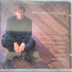 CDs de Música: EL TON JOHN LOVE SONGS. Lote 194986158