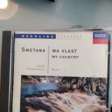 CDs de Música: SMETANA - MA VLAST - MY COUNTRY - ISRAEL PHILARMONIC. Lote 194986728