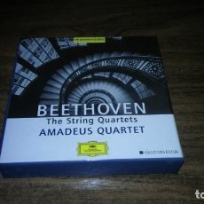 CDs de Música: BEETHOVEN - THE STRING QUARTETS. AMADEUS QUARTET (7CDS DEUTSCHE GRAMMOPHON). Lote 194991453
