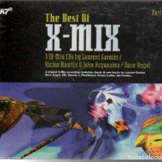 CDs de Música: THE BEST OF X-MIX - LAURENT GARNIER, BICHIE HAWTIN, JOHN ACQUAVIVA / TRIPLE CD / RF-4930. Lote 194997852