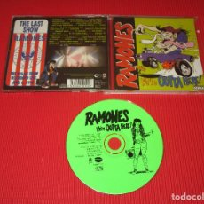 CDs de Música: RAMONES ( WE'RE OUTTA HERE ! ) - CD - EAGCD010 / GAS 0000010 EAG - EAGLE RECORDS. Lote 195001775