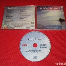 CDs de Música: CANCIONES ( ORFEON DONOSTIARRA ) - CD - 65200 - RTVE - SAINZ ALFARO - ORQUESTA SINFONICA DE EUSKADI. Lote 195001947