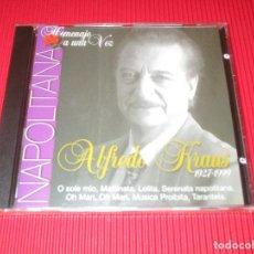 CDs de Música: HOMENAJE A UNA VOZ - ALFREDO KRAUS ( 1927 - 1999 / NAPOLITANA ) - CD - PRECINTADO. Lote 195002666