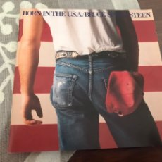 CDs de Música: FOLLETO BORN IN THE USA BRUCE SPRINGSTEEN SOLO FOLLETO. Lote 195008783