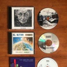 CDs de Música: LOT 3 CDS (EDUARDO MORENO - EL ÚLTIMO HOMBRE, TOMMY CAGGIANI THERION PROJECT, ÁNGEL ONTALVA). Lote 195010951