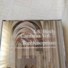 CDs de Música: J.S. BACH: COMPLETE CANTATAS VOL.7 (KOOPMAN, 3 CDS). Lote 195013383
