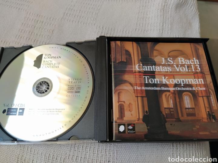 CDs de Música: J S. BACH: Cantatas completas, vol. 13 ( Koopman, 3 CDs) - Foto 3 - 195014006