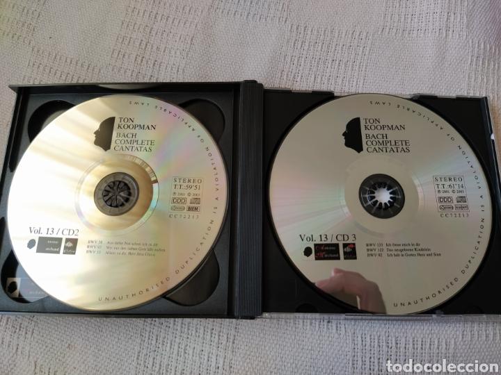 CDs de Música: J S. BACH: Cantatas completas, vol. 13 ( Koopman, 3 CDs) - Foto 4 - 195014006
