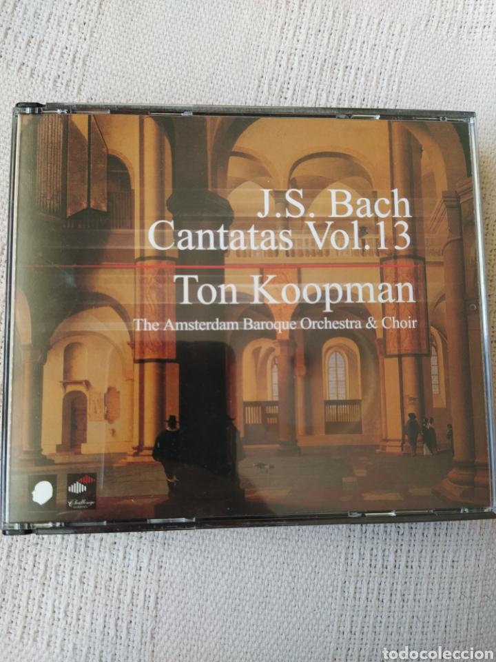 J S. BACH: CANTATAS COMPLETAS, VOL. 13 ( KOOPMAN, 3 CDS) (Música - CD's Clásica, Ópera, Zarzuela y Marchas)