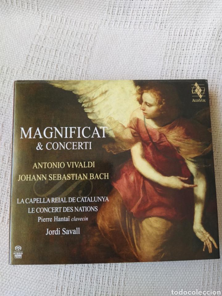 A. VIVALDI Y J.S. BACH: MAGNIFICAT Y CONCERTI (JORDI SAVALL, CD Y DVD) (Música - CD's Clásica, Ópera, Zarzuela y Marchas)
