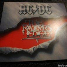 CDs de Música: CD DE AC DC - THE RAZORS EDGE. Lote 195016070