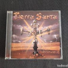 CDs de Música: TIERRA SANTA -INDOMABLE CD. Lote 195025096