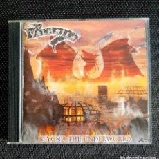 CDs de Música: VALHALLA -BEYOND THE UNDERWORD CD 2000. Lote 195026401