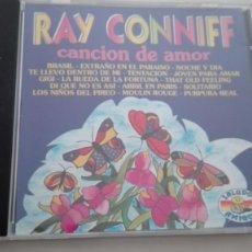 CDs de Música: RAY CONNIFF CD 16 PIEZAS CANCIÓN DE AMOR PROMO SOUND AG 1998. Lote 195029662