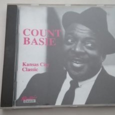 CDs de Música: COUNT BASIE CD KANSAS CITY CLASSIC ROCKIN'CHAIR GRABADO EN NUEVA YORK EN 1940 Y 1941. Lote 195030967