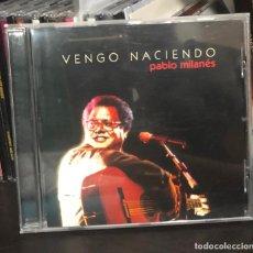 CDs de Música: CD PABLO MILANES VENGO NACIENDO NUEVA TROVA CUBANA SILVIO RODRIGUEZ CUBA LP SINGLE CASE ALBUM DISCO . Lote 195035130