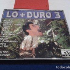 CDs de Música: CD ( LO MAS DURO 3 - 2 CD´S - RECOPILATORIO ) 1994 MAX MUSIC - LO + DURO 3 CAJA GRANDE. Lote 195035510