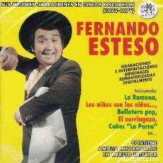 CDs de Música: FERNANDO ESTESO – SUS MEJORES GRABACIONES EN DISCOS DISCOPHON (1975-1976). Lote 195037766