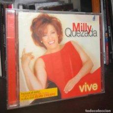 CDs de Música: CD MILLY QUEZADA VIVE ELVIS CRESPO MERENGUE PARA DARTE MI VIDA LP SINGLE GRANDES EXITOS PIENSO ASI . Lote 195038775