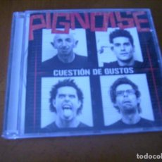 CDs de Música: PIGNOISE / CUESTION DE GUSTOS. Lote 195043357