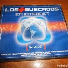 CDs de Música: LOS + BUSCADOS EN INTERNET DOBLE CD 2001 + CD YA.COM PROZZAK B´52 JAMIROQUAI JOE JACKSON THE GAME. Lote 195044210