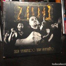 CDs de Música: CD ALBUM ZPU HE TENIDO UN SUEÑO RAP DVD ESTHER OVEJERO NACH EL CHOJIN DON PATRICIO LP SINGLE LIBRO . Lote 195045312