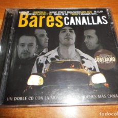 CDs de Música: BARES CANALLAS DOBLE CD 2001 MAGO DE OZ JAMIROQUAI PLATERO Y TU PIRATAS LA LENGUA SUELTA NOIR. Lote 195045941